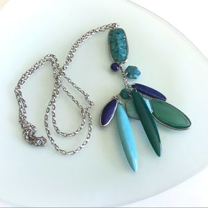 Silpada | Go Geo Y Turquoise Sterling Necklace